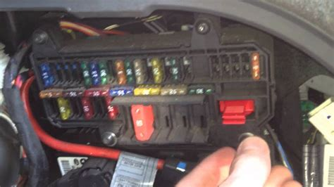 bmw   fuse box locations  chart diagram youtube