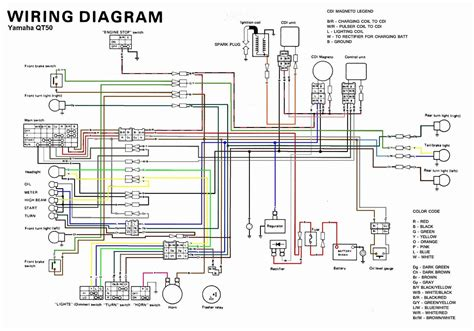 image result for 1989 yamaha zuma wiring diagram 1989