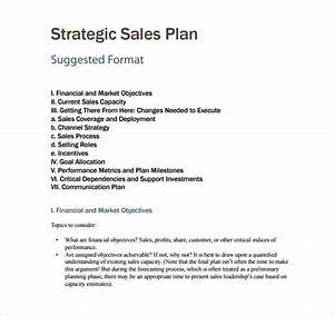 sales plan template 8 free word pdf documents downoad With business plan to increase sales template