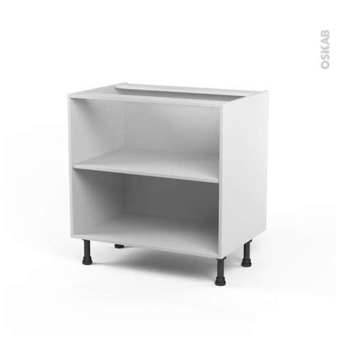 caisson meuble de cuisine caisson bas n 8 meuble de cuisine l80 x h70 x p56 cm
