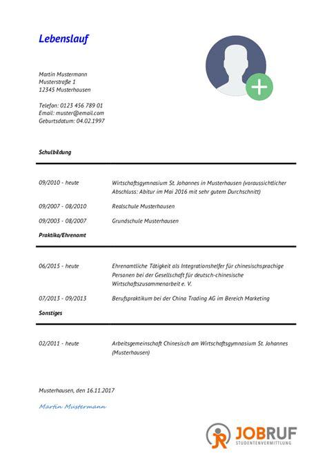 Lebenslauf Muster Aktuell by 12 Lebenslauf Aktuell Freyajacklin