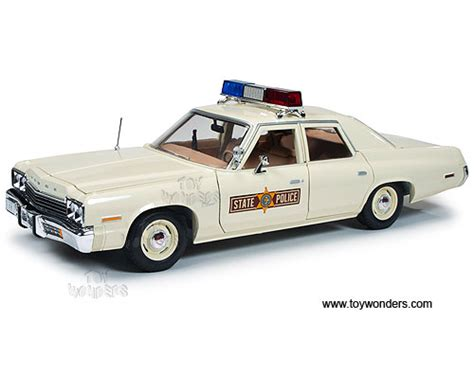 1 18 police car with 1974 monaco illinois state police car amm1019 1 18 scale