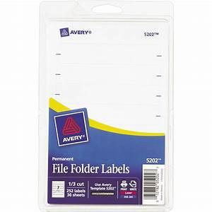 avery file folder labels 252 pk labels label makers With file folder label maker