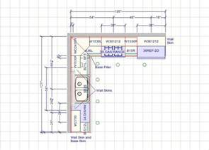 kitchen designs designers kitchen 10 x 10 kitchen design - Typical Kitchen Island Dimensions