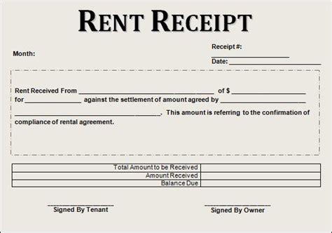 12 house rent receipt formats free printable word excel pdf sleformats org receipt