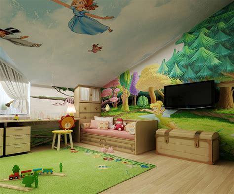 Ideen Für Kinderzimmer Mit Dachschräge by Wandbemalung Im Kinderzimmer 35 Verspielte Interieurideen