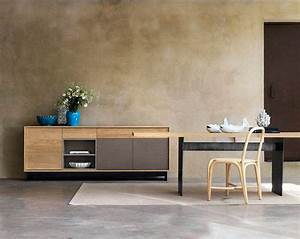 Buffet Haut Contemporain : buffet bois contemporain maison design ~ Teatrodelosmanantiales.com Idées de Décoration