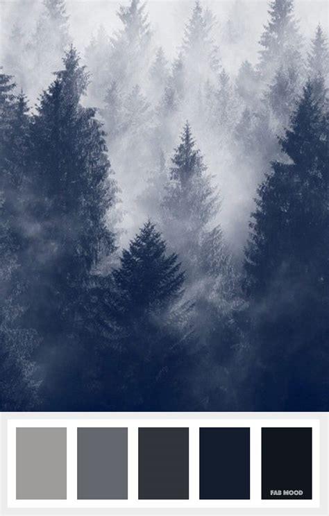 Grey Mood Board   Dark winter Colours that inspire creativity { Beautiful Colour Palettes }