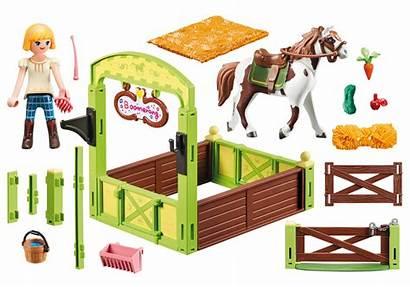 Playmobil Boomerang Box Abigail Horse Stall Loyal