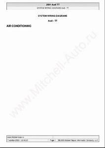 Audi Tt 2001 Wiring Diagrams Sch Service Manual Download
