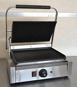 new commercial panini machine contact grill toaster