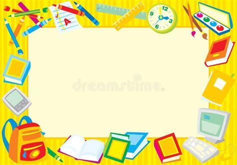school border colorful border frame   school