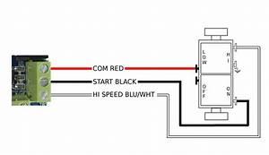 2 Speed Whole House Fan Switch Wiring Diagram