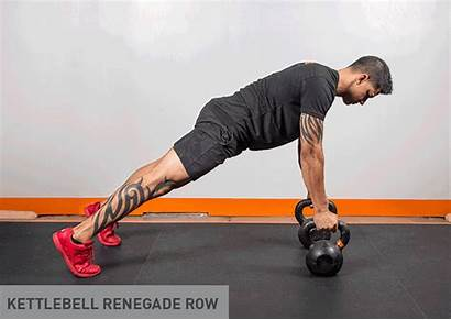 Workout Kettlebell Fitness Training Level Workouts Row