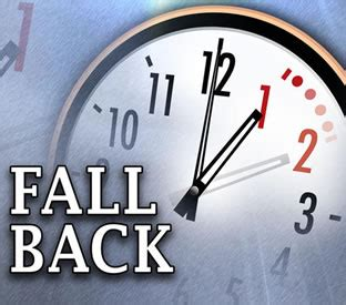 fall daylight saving time ends sunday nov