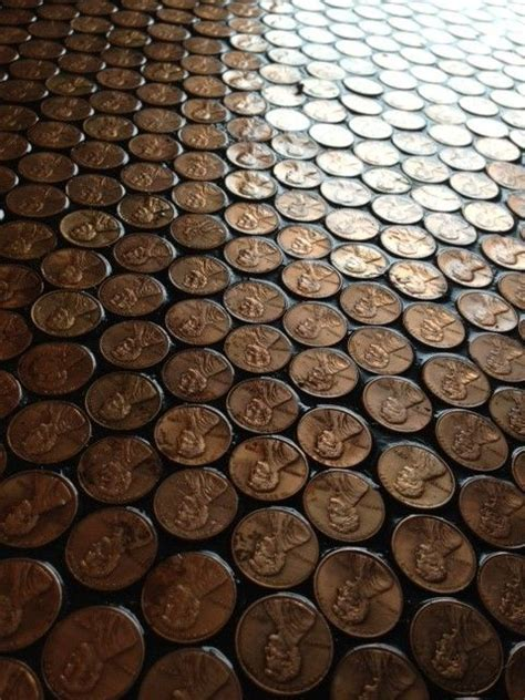 Penny Floor using Minwax 13025 VOC Fast Drying