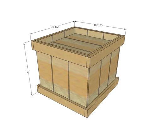 building a xmas tree box white wood tree base diy projects
