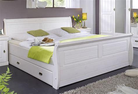 Bett 140x200 Weiß Mit Schubladen Landhaus  Die Neuesten