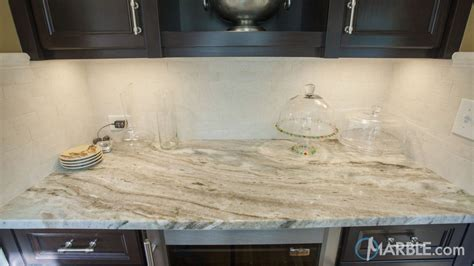 brown quartzite kitchen counter