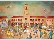 Imágenes de la gesta de mayo Época colonial y vendedores