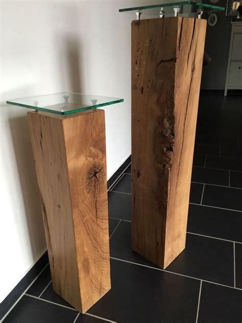 Möbel Aus Eichenholz by Dekos 228 Ulen Aus Eichenholz Mit Glasplatten In M 246 Bel