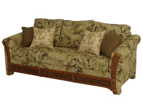 rattan sleeper sofa wohnzimmer moebel