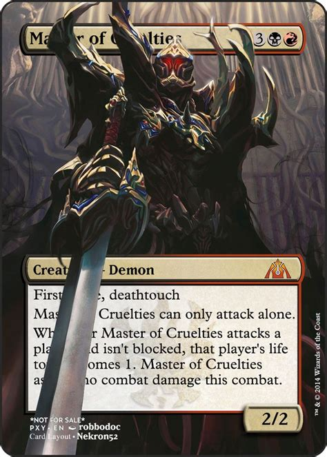 Master Of Cruelties Deck Modern by Master Of Cruelties Deck Proxy 28 Images Magic The