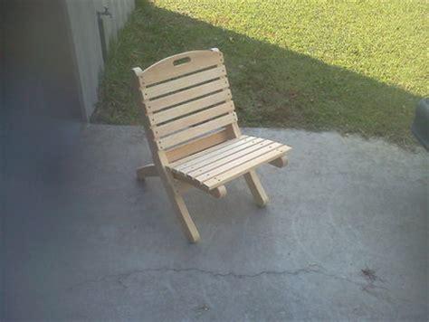 camp chair plans plans diy   portable folding
