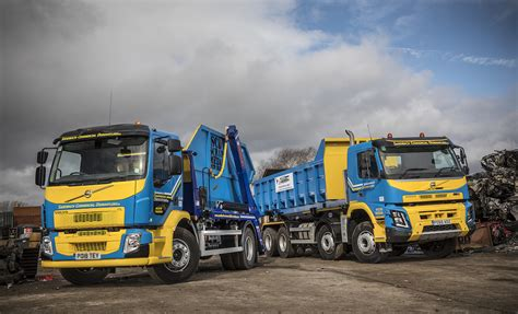 new volvo commercial sandbach commercial dismantlers invests in volvo trucks