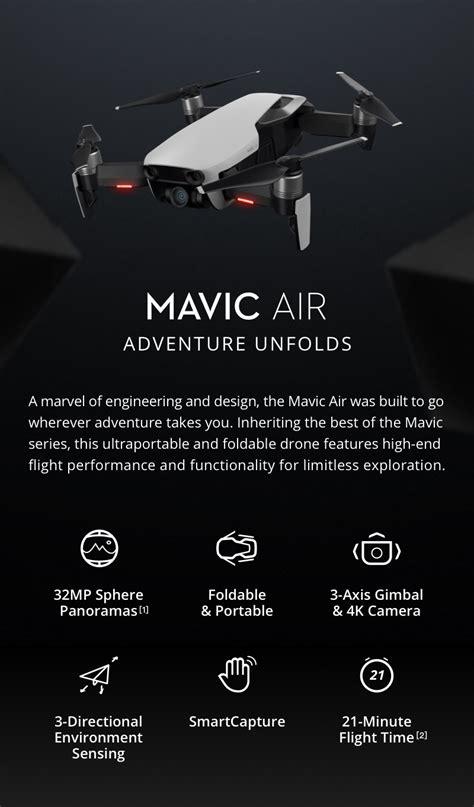 dji mavic air fly  combo drone shop perth