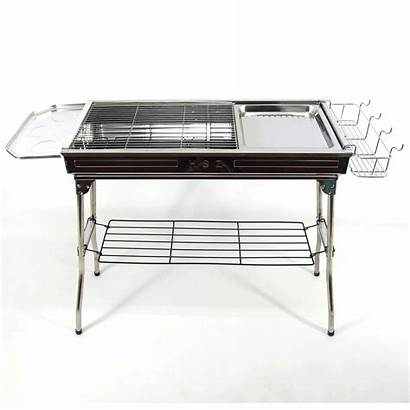 Stainless Steel Bbq Portable Wood Charcoal Hibachi