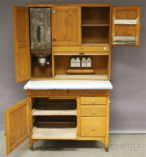 what is a hoosier cupboard sellers oak tambour hoosier cabinet sale number 2630m