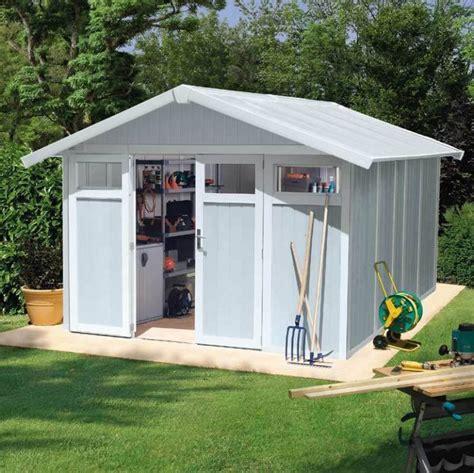 big plastic sheds large plastic garden sheds quality plastic sheds