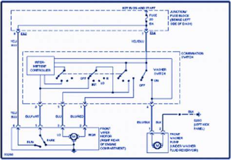 Suzuki Wiring Diagram 1997 by Suzuki 1997 Electrical Wiring Diagram Auto Wiring
