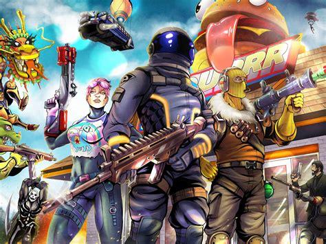 wallpaper  video game fortnite