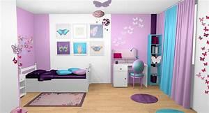 decoration d39interieur d39une chambre de fille a vaux le With peinture couleur bois de rose 13 ambiance et decoration decoratrice dinterieur home