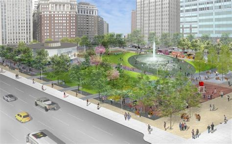 Planphilly  Refined Design For New Love Park