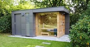 Gartenhaus Modern Kubus : design gartenhaus moderne gartenh user schicke gartensauna auch alsbausatz ~ Orissabook.com Haus und Dekorationen