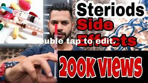 Steroid Side Effects For Men
