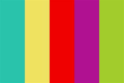cinco de mayo color palette