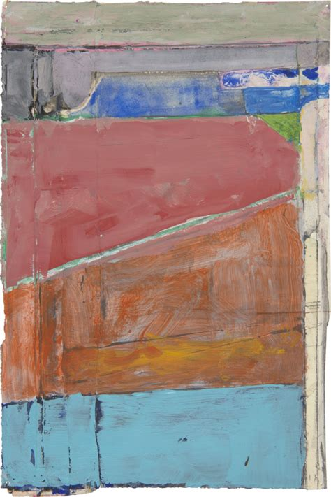 Rarely seen works on paper by master painter Diebenkorn ...