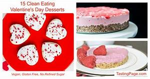 Clean Eating Valentine's Day Desserts — Tasting Page