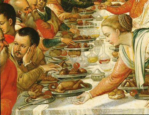 pranzi  banchetti nella storia focusit