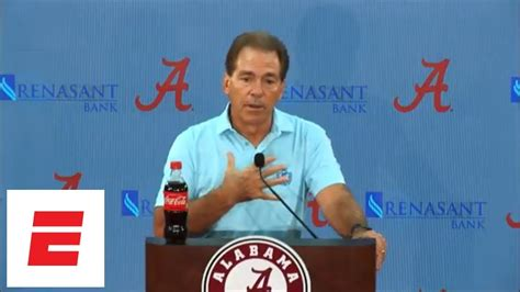 [FULL] Nick Saban press conference: Maria Taylor ...