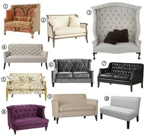 Inexpensive Settee by Small Space Sofa Alternatives 10 Settees Loveseats