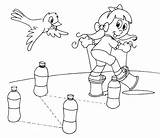 Coloring Obstacles Stilts sketch template