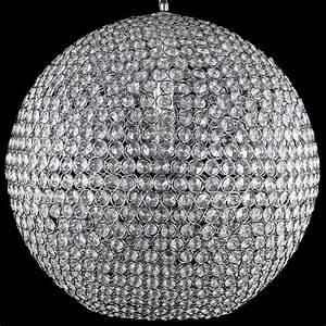 Lampe Mit Vielen Lampenschirmen : kristall h ngeleuchte 40cm pendelleuchte kugel h nge lampe leuchte ebay ~ Bigdaddyawards.com Haus und Dekorationen