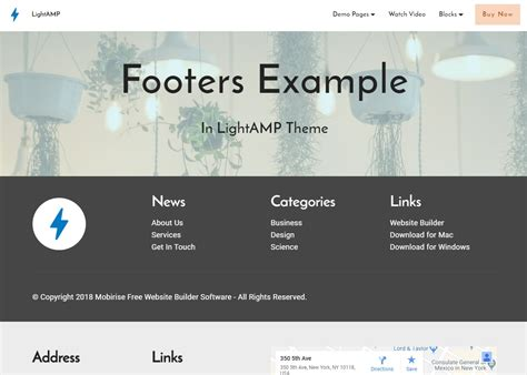 html footer template best 50 innovative and creative html5 themes exles