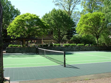 How Much Does A Backyard Basketball Court Cost by Should I Resurface My Tennis Court With Flex Court Tiles