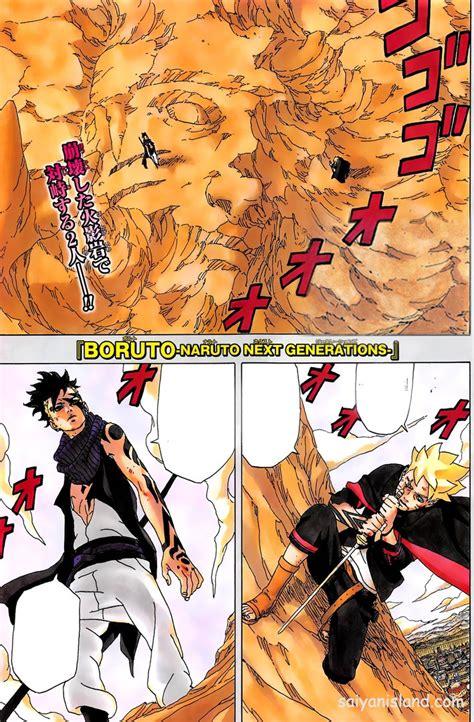 Boruto Naruto Next Generations Manga Begins In The Future